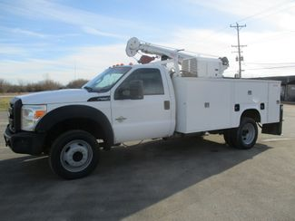 2011 Ford F550 DIESEL 7500 LBS CRANE TRUCK Lake In The Hills, IL 6