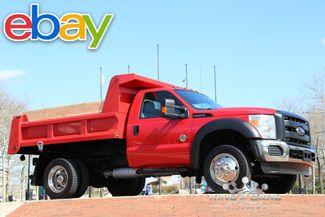 2011 Ford F550 Reg Cab Mason DUMP 6.7L DIESEL 72K ORIGINAL MILES 4X4 in Woodbury New Jersey, 08096