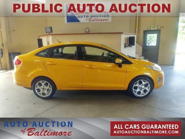 2011 Ford Fiesta SEL   JOPPA, MD   Auto Auction of Baltimore  in Joppa MD