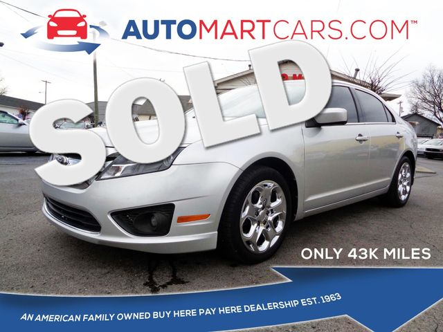 2011 Ford Fusion in Nashville Tennessee