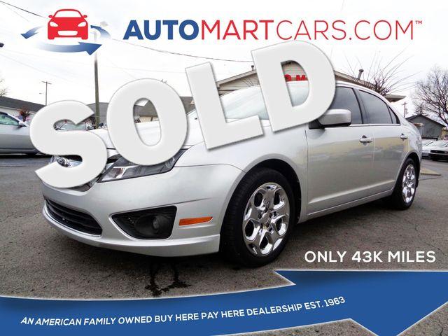 2011 Ford Fusion SE | Nashville, Tennessee | Auto Mart Used Cars Inc. in Nashville Tennessee