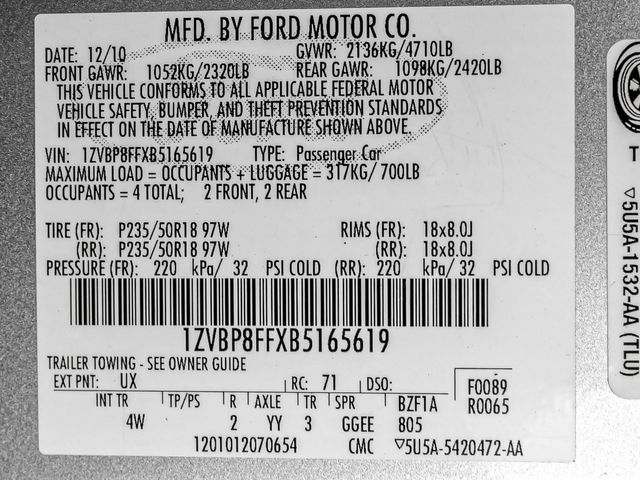 2011 Ford Mustang GT Premium Burbank, CA 26