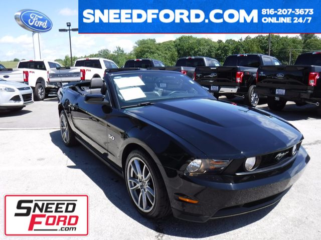 2011 Ford Mustang GT Premium Convertible