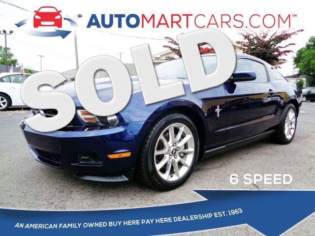2011 Ford Mustang V6 Premium   Nashville, Tennessee   Auto Mart Used Cars Inc. in Nashville Tennessee