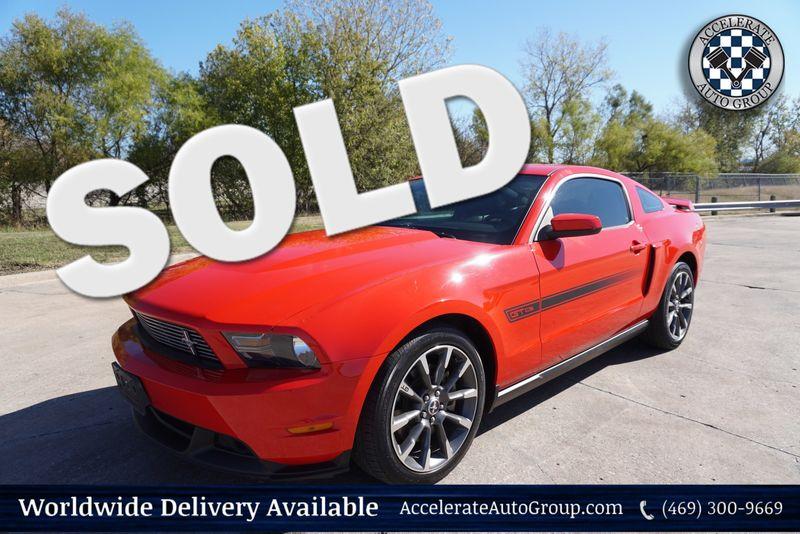 2011 Ford Mustang GT  California Special in Rowlett Texas