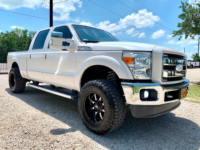 2011 Ford Super Duty F-250 Lariat Crew Cab FX4 4X4 6.7L Powerstroke Diesel Auto Lifted
