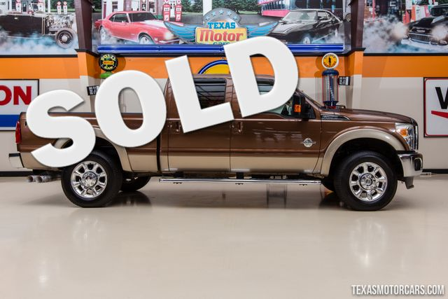 2011 Ford Super Duty F-250 Pickup Lariat 4X4