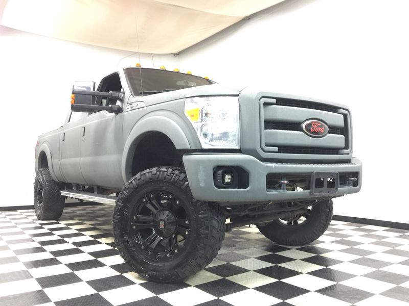 2011 Ford Super Duty F-250 Pickup *Lariat 4x4 4 Inch Lift 6.7 turbo diesel EGR* | The Auto Cave in Addison