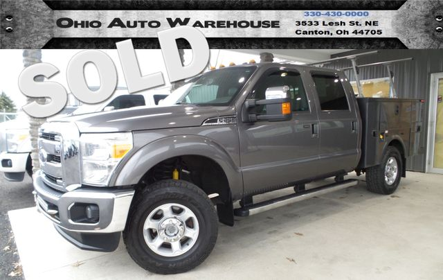 2011 Ford Super Duty F-250 Pickup Lariat 4X4 Nav Roof Utility Bed CrewCab We Finance | Canton, Ohio | Ohio Auto Warehouse LLC in Canton Ohio