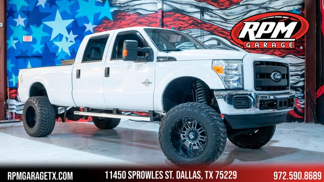 2011 Ford Super Duty F-250 Pickup XLT Lifted with Many Upgrades