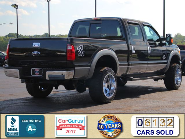2011 Ford Super Duty F-250 Pickup Lariat Crew Cab 4X4 - LIFTED - ENGINE UPGRADES! Mooresville , NC 2