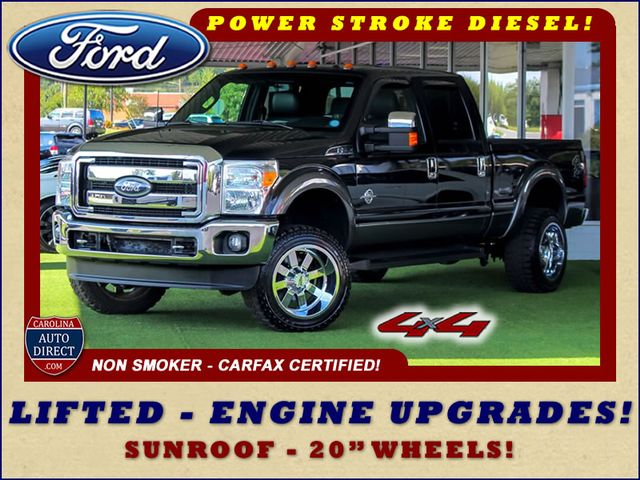 2011 Ford Super Duty F-250 Pickup Lariat Crew Cab 4X4 - LIFTED - ENGINE UPGRADES! Mooresville , NC 0