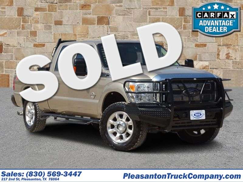 2011 Ford Super Duty F-250 Pickup Lariat | Pleasanton, TX | Pleasanton Truck Company in Pleasanton TX