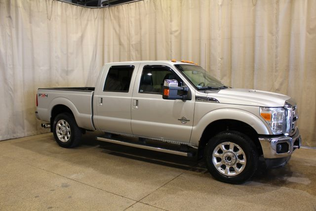 2011 Ford Super Duty F-250 4x4 Diesel Lariat in Roscoe, IL 61073