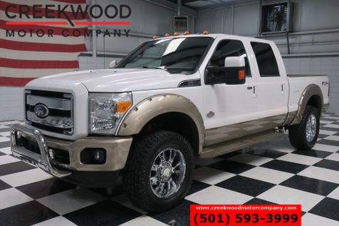 2011 Ford Super Duty F-250 King Ranch 4x4 Diesel Nav Roof Chrome 20s Deleted in Searcy, AR