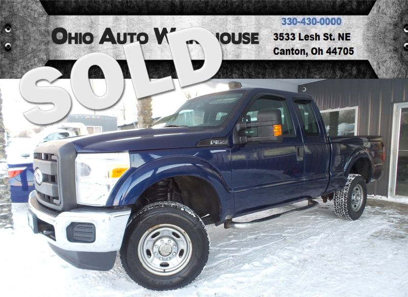2011 Ford Super Duty F-350 4x4 Extended Cab 1-Owner Clean Carfax We Finance | Canton, Ohio | Ohio Auto Warehouse LLC in Canton Ohio