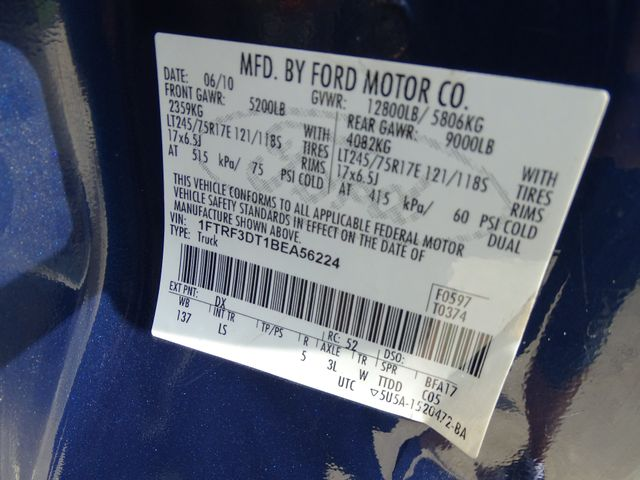 2011 Ford Super Duty F-350 DRW Pickup XL Corpus Christi, Texas 36