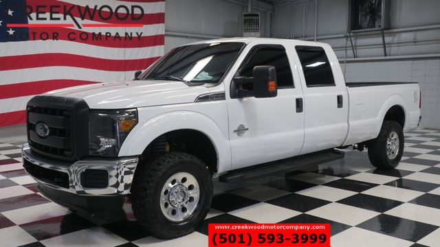 2011 Ford Super Duty F-350 SRW XLT 4x4 Diesel White Long Bed Low Miles NICE