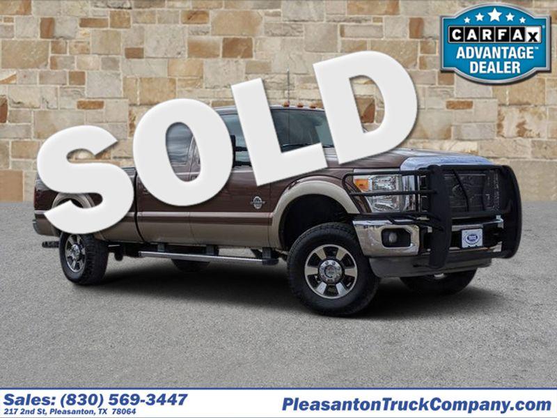 2011 Ford Super Duty F-350 SRW Pickup Lariat | Pleasanton, TX | Pleasanton Truck Company in Pleasanton TX