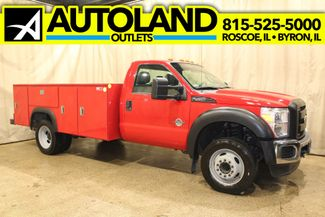 2011 Ford Super Duty F-450 Utility Diesel RWD XL in Roscoe, IL 61073