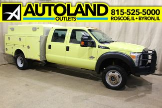 2011 Ford Super Duty F-450 Diesel 4x4 Utility XL in Roscoe, IL 61073