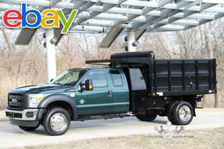 2011 Ford Super Duty F-550 DRW Chassis Cab 6.7 DIESEL L-PACK LANDSCAPE 4X4 DUMP LOW MILES!! in Woodbury New Jersey, 08096