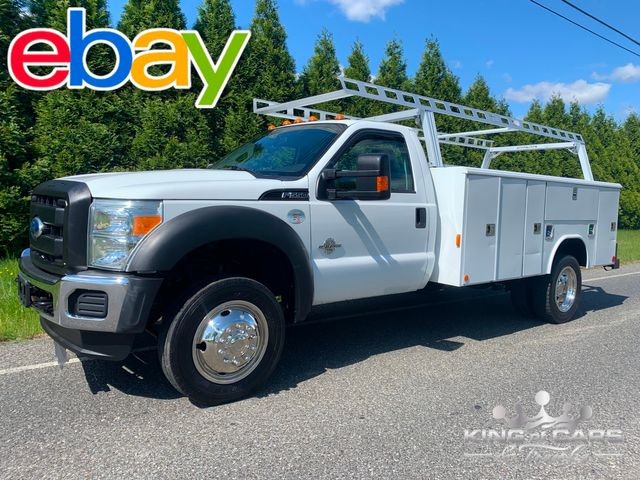 2011 Ford Super Duty F-550 DRW Chassis Cab XL UTILITY TRUCK DIESEL 4X4