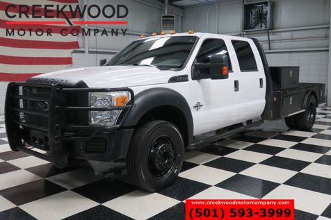 2011 Ford Super Duty F-550 XL XLT 4x4 Diesel Dually Utility Service Flatbed in Searcy, AR