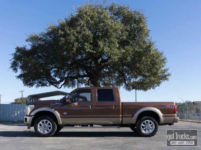 2011 Ford Super Duty F250 Crew Cab King Ranch FX4 6.7L Power Stroke 4X4
