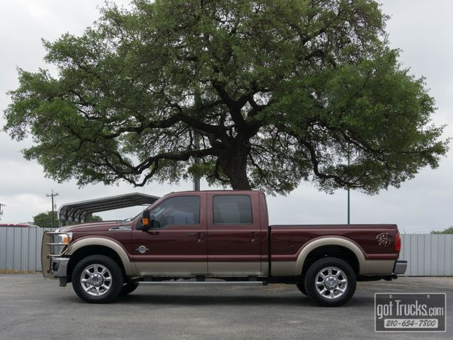 2011 Ford Super Duty F250 Crew Cab Lariat 6.7L Power Stroke Diesel 4X4
