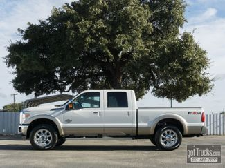 2011 Ford Super Duty F250 Crew Cab Lariat FX4 6.7L Power Stroke Diesel 4X4 in San Antonio Texas, 78217