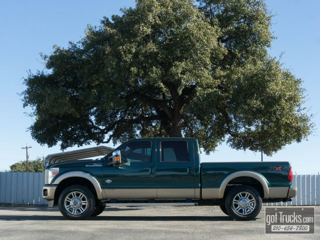 2011 Ford Super Duty F250 Crew Cab King Ranch FX4 6.7L Power Stroke 4X4