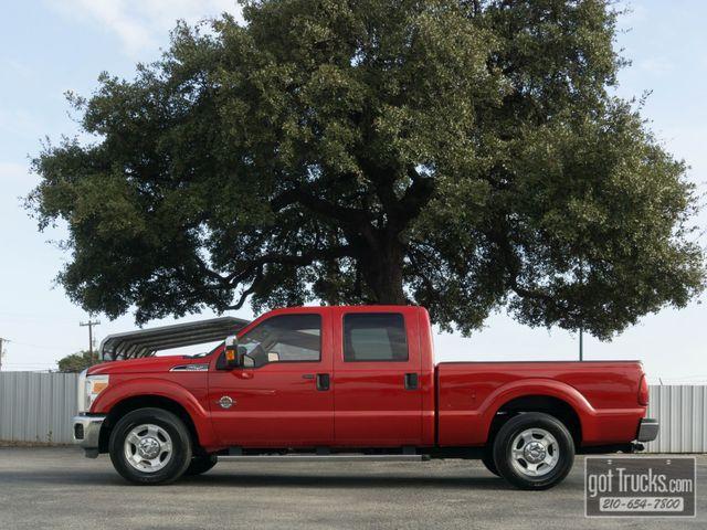 2011 Ford Super Duty F250 Crew Cab XLT 6.7L Power Stroke Diesel