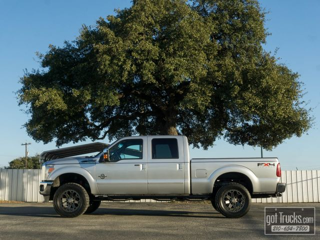 2011 Ford Super Duty F250 Crew Cab Lariat FX4 6.7L Power Stroke Diesel 4X4