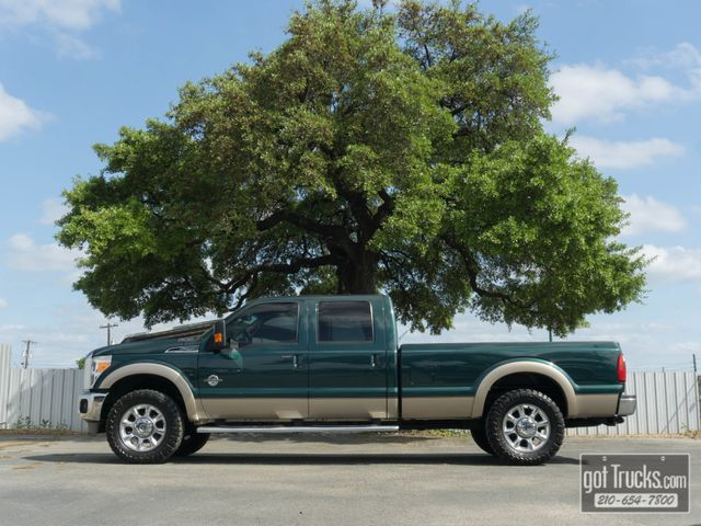 2011 Ford Super Duty F250 Crew Cab Lariat 6.7L Power Stroke Diesel 4X4