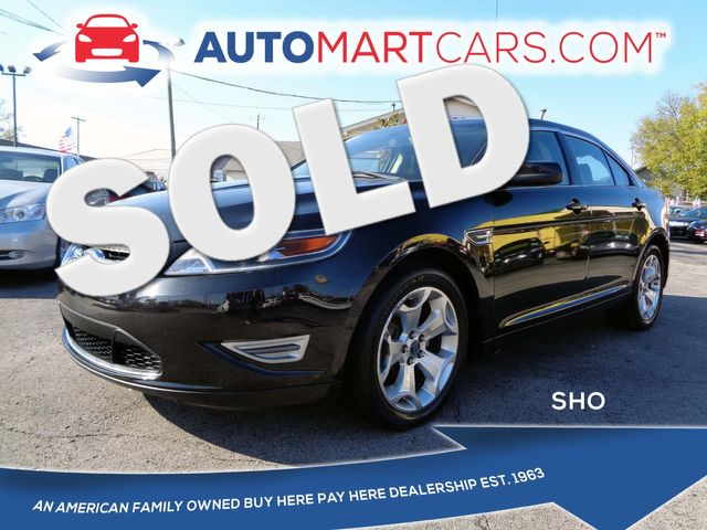 2011 Ford Taurus SHO | Nashville, Tennessee | Auto Mart Used Cars Inc. in Nashville Tennessee