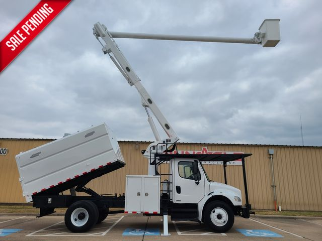 2011 Freightliner M2 BUSINESS CLASS ALTEC LRV56 BUCKET TRUCK WITH CHIPPER DUMP BED
