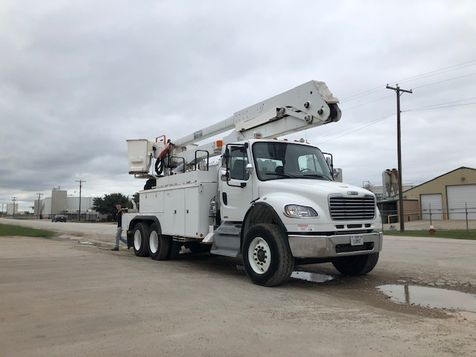 2011 Freightliner M2 DBL BUCKET,  MATERIAL HANDLER 75FT WORKING HEIGHT in Fort Worth, TX