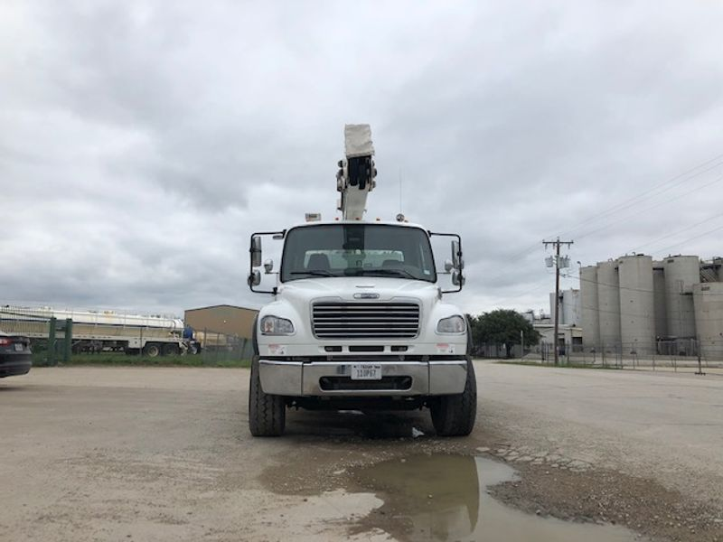 2011 Freightliner M2 DBL BUCKET  MATERIAL HANDLER 75FT WORKING HEIGHT  city TX  North Texas Equipment  in Fort Worth, TX