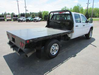 2011 GMC 2500HD 4x4 Crew-Cab Flatbed Truck   St Cloud MN  NorthStar Truck Sales  in St Cloud, MN