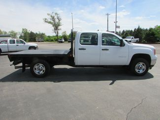 2011 GMC 2500HD 4x4 Crew-Cab Flatbed Truck   St Cloud MN  NorthStar Truck Sales  in St Cloud, MN