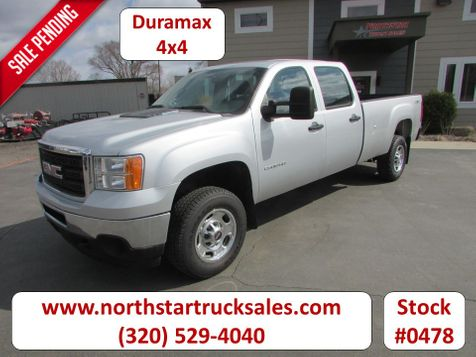 2011 GMC 2500HD Duramax 4x4 Crew-Cab Long Box Pickup  in St Cloud, MN