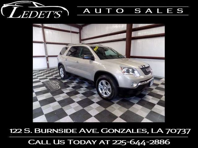 2011 GMC Acadia SLE - Ledet's Auto Sales Gonzales_state_zip in Gonzales