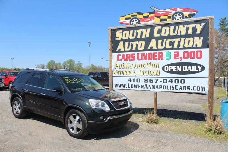 2011 GMC Acadia SLT1  city MD  South County Public Auto Auction  in Harwood, MD