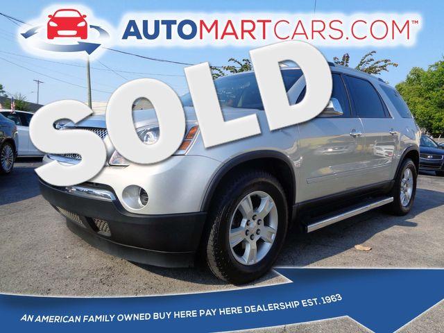 2011 GMC Acadia SL | Nashville, Tennessee | Auto Mart Used Cars Inc. in Nashville Tennessee