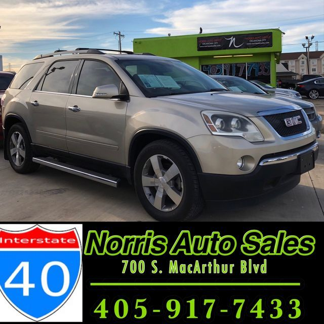 2011 GMC Acadia SLT1   Oklahoma City, OK   Norris Auto Sales (I-40) in Oklahoma City OK