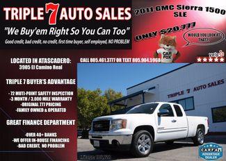 2011 GMC Sierra 1500 SLE in Atascadero CA, 93422