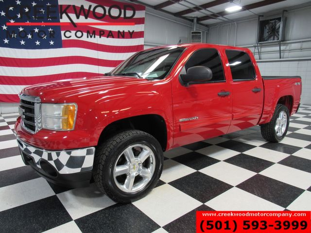 2011 GMC Sierra 1500 Red 4x4 Crew Cab Low Miles Chrome 20s Leveled NICE in Searcy, AR 72143