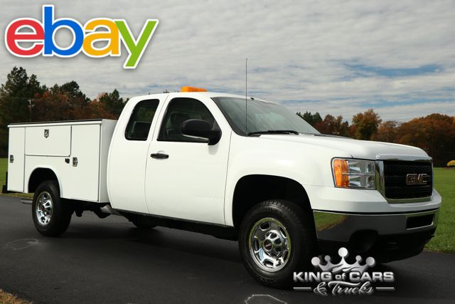 2011 Gmc Sierra 2500 W/T 8' READING UTILITY BODY CLEAN EXT CAB POWER OPTIONS