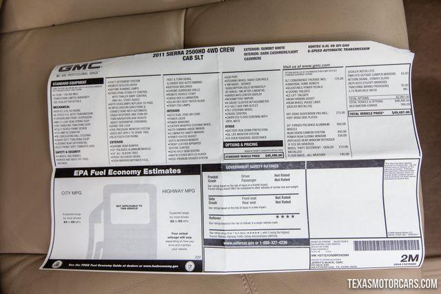 2011 GMC Sierra 2500HD SLT 4X4 in Addison, Texas 75001